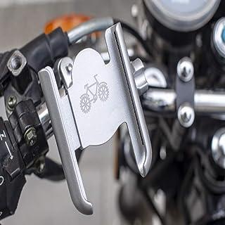 ZHANGXIAOYU Car battery car bike rack (Color : Silver)