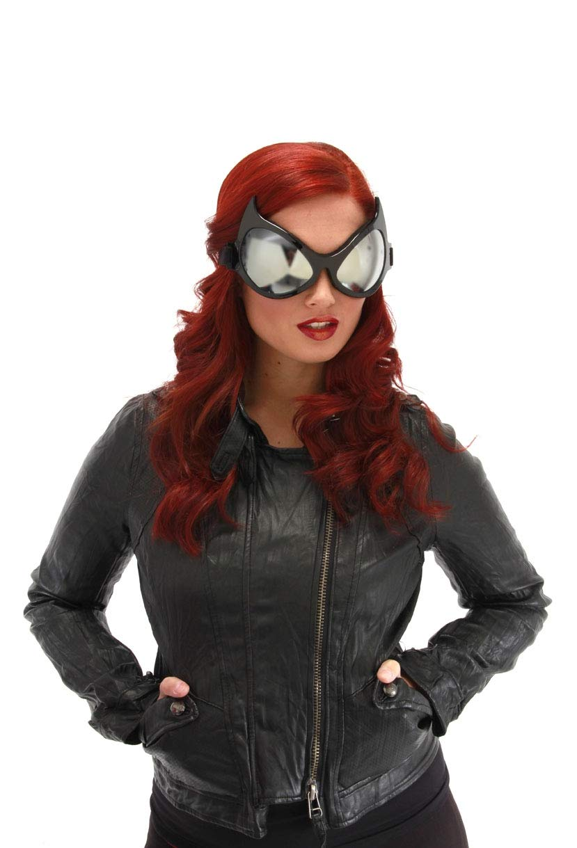 elope Costume Goggles Silver Lenses
