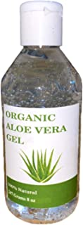 Organic Aloe Vera Gel with 100% Pure Aloe From Freshly Cut Aloe Plant, Not Powder,No fregrance. Also Use this aloe Veera G...