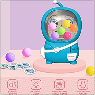 HomeCiCi Gashapon Machine Claw Toy Grabber Surprise Egg Game Small Household Electric BallDoll Robot Toys Candy Grabber & Prize Dispenser Vending Machine Toy for Kids 3+