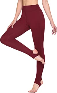 ADOME Leggings for Women High Waisted Yoga Pants Stirrup Leggings Tights Gym for Running Cycling Yoga Workout