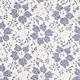 Fabulous Fabrics Tüllspitze blau, 135cm breit – zum
