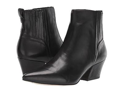 Franco Sarto Luca by SARTO (Black Leather) Women