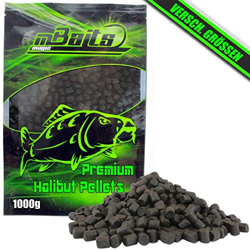 Angel-Berger Magic Baits Premium Halibut Pellets 1Kg Futterpellets (4mm)