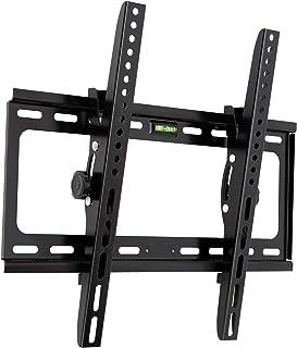 テレビ 壁掛け 金具 壁掛けテレビ 26-55インチ モニター LCD LED液晶テレビ対応 上下15度調節式 最大耐荷重50kg(ネジ 日本語説明書付き)
