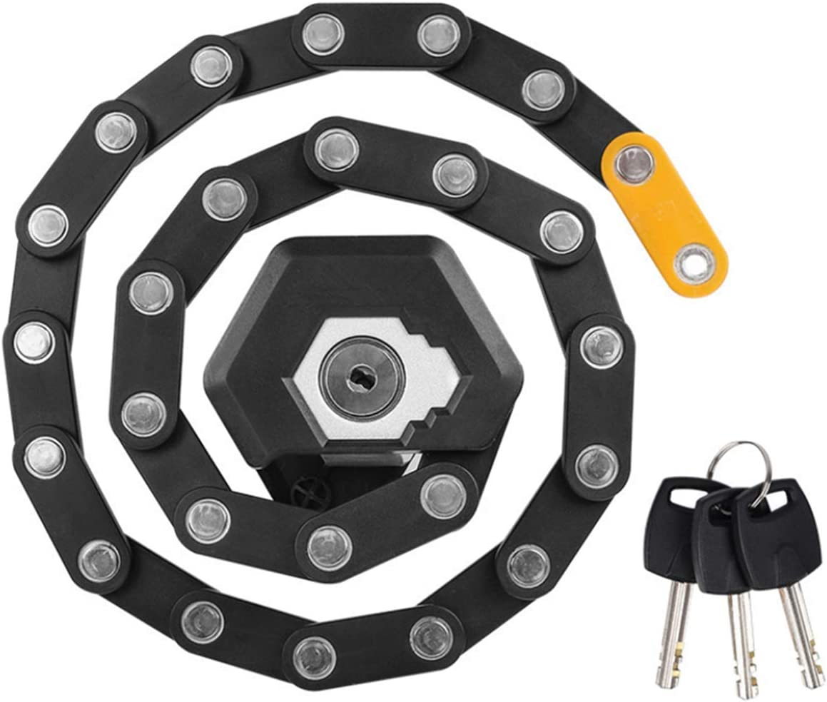 VEISON Zinc Steel Compact Folding Lock Theft Dealing full price reduction Max 72% OFF Bicycle Anti Bike