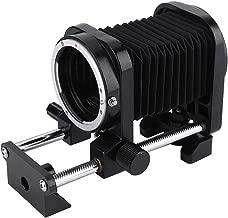 Serounder Macro Lens Extension Bellows Tube for Nikon for Sony AF for Canon EOS DSLR Cameras(for Canon EOS)