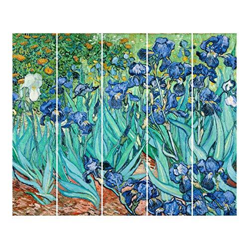 Bilderwelten Cortinas deslizables - Van Gogh - - 5 Paneles japoneses Sin Montaje 250x300cm