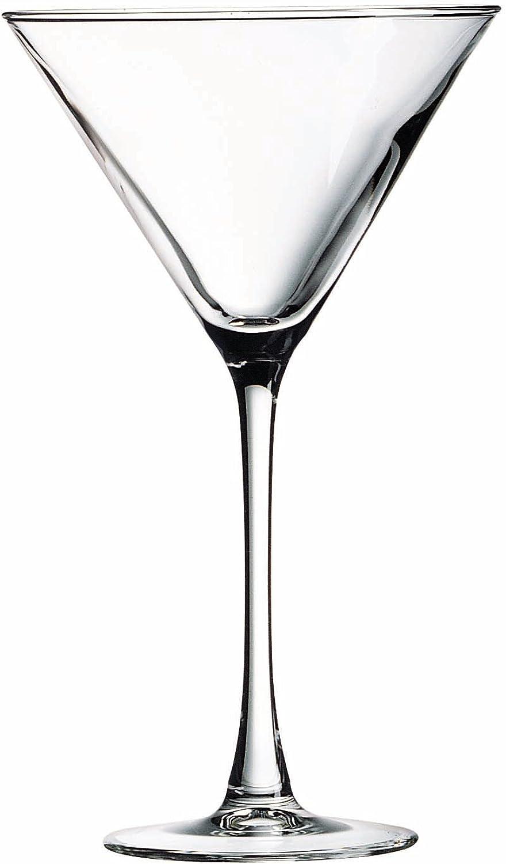 Luminarc Arc International Connoisseur Bulk Martini Glass, 10 oz, Clear (Pack Of 12)