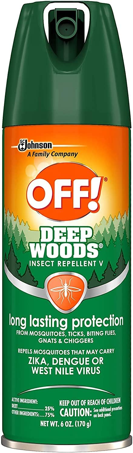 OFF Deep Woods Insect Translated Repellant Spray 1 Large-scale sale Pack 6 oz of