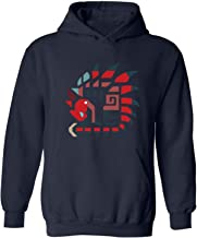 Yuqina Men's Various Pattern Collection Design Graphic Unisex Pullover Hooded Sweatshirt with Pocket