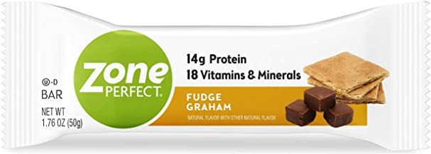 Zoneperfect Classic Protein Bars, Fudge Graham, High Protein, With Vitamins & Minerals 1.76 Ounce (30 Count)