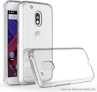 a806cef9c3d Moto G4 Plus caso, PC de nuevo caso de TPU parachoques KUGI ® [Caídas /  golpes / cero Protección Absorción] alta calidad + para el teléfono  inteligente Moto ...