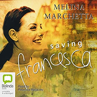 Saving Francesca audiobook cover art