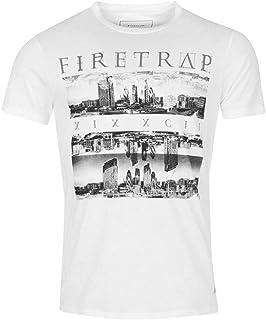 Firetrap Homme chemin T shirt à manches courtes Casual Sport Top