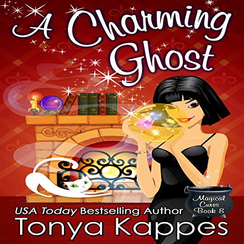 A Charming Ghost audiobook cover art