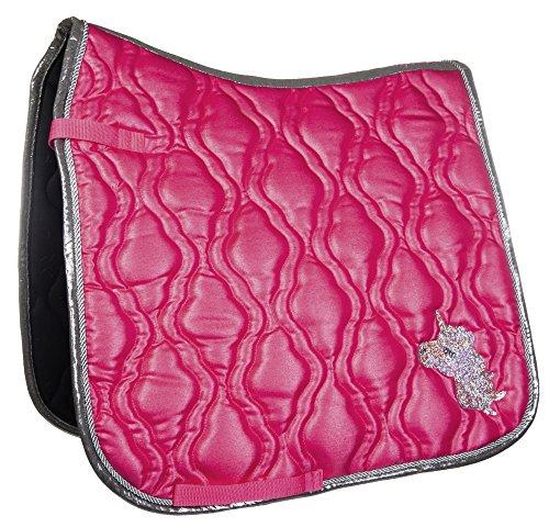 HKM Schabracke -Unicorn-, pink, PonyViels.