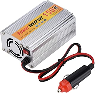 Car Inverter, Professional 150W Car Power Inverter DC 12V to 220V AC Converter USB 5V 500mA Charger with Power Switch
