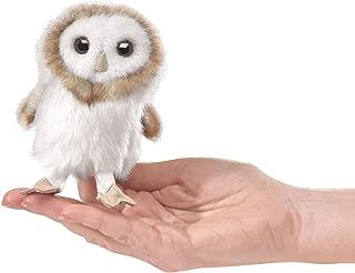Folkmanis Mini Barn Owl Finger Puppet