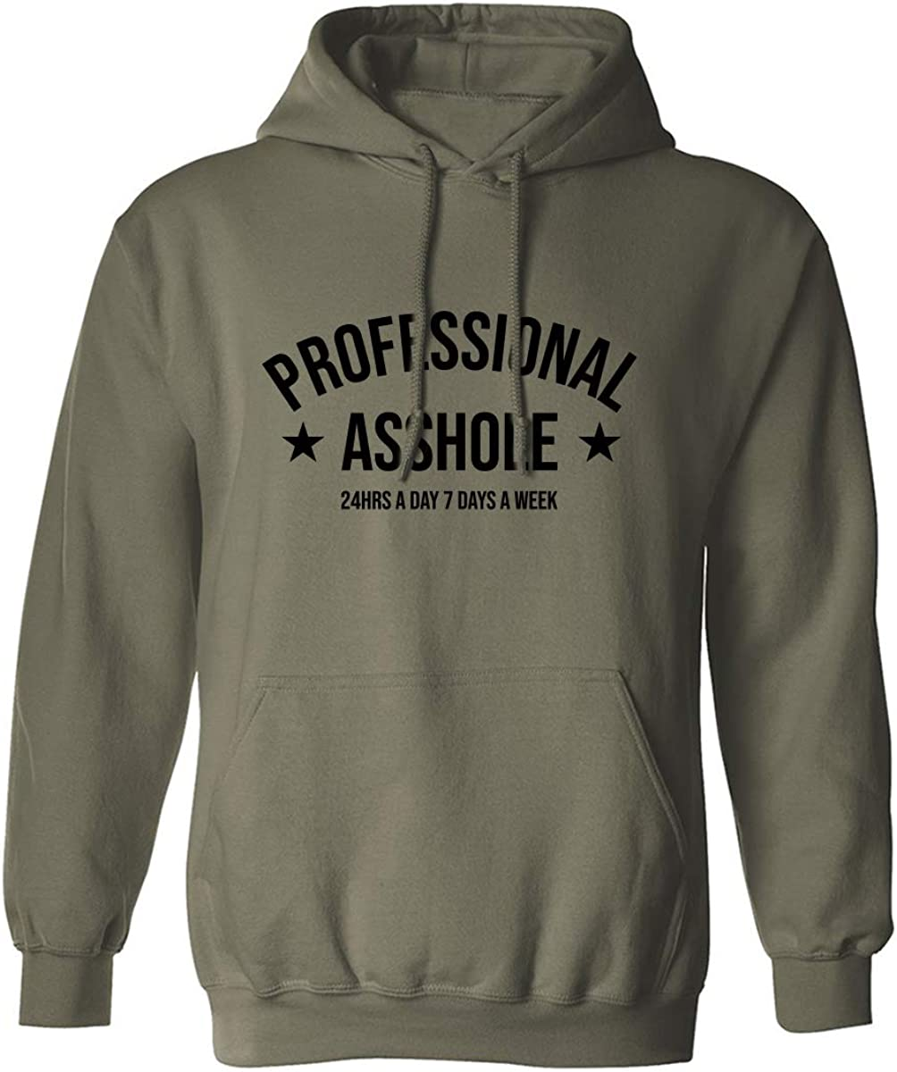 PROFESSIONAL ASSHOLE Adult Hooded Sweatshirt
