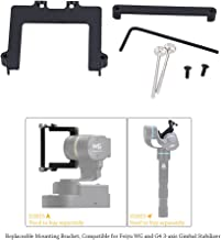 Andoer 46mm Camera Mounting Bracket for Feiyu and 3-axis Gimbal Stabilizer