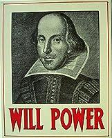Will Power William シェイクスピア メタルサイン