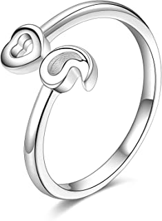 Sterling Silver Semicolon Ring For Women My Story Isn't Over Yet Ring Band Size 5-11