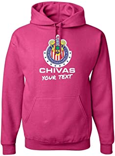Chivas Guadalajara Hooded Hoodie Hoody Sudadera with Custom Text(Optional)