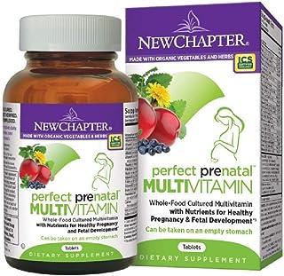 New Chapter Perfect Prenatal Multivitamins, 96 Capsules