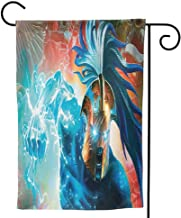 Small American Flags Lion King Decorative Spring Summer House Flag