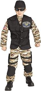 Boys Special Forces Commando Uniform Costume
