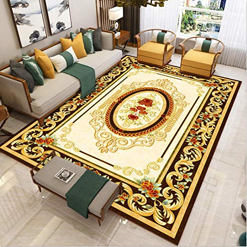 bedroom Contemporary Pattern Durable - Living room carpet carved quality casual elegant country retro classic anti-fading-160x230cm