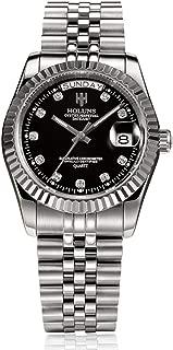 Watches for Men Women, Fashion Watches Luxury HOLUNS Steel Men Watch, Luminous Waterproof Wristwatch