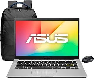 "Asus Laptop VivoBook , 14"", Intel Core i5 10th, 8GB RAM, 512GB SSD+32 Optane, NumberPad y Mchila. Dreamy White, X413FA-BV584T"