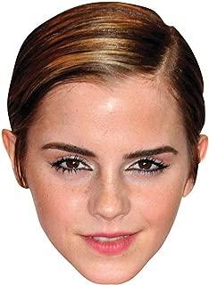 Emma Watson Celebrity Mask, Card Face and Fancy Dress Mask