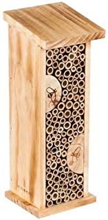 Bird House Bee Hive Wooden Insects House Hanging Bamboo Insect Hotels for Outdoor Garden Decorative