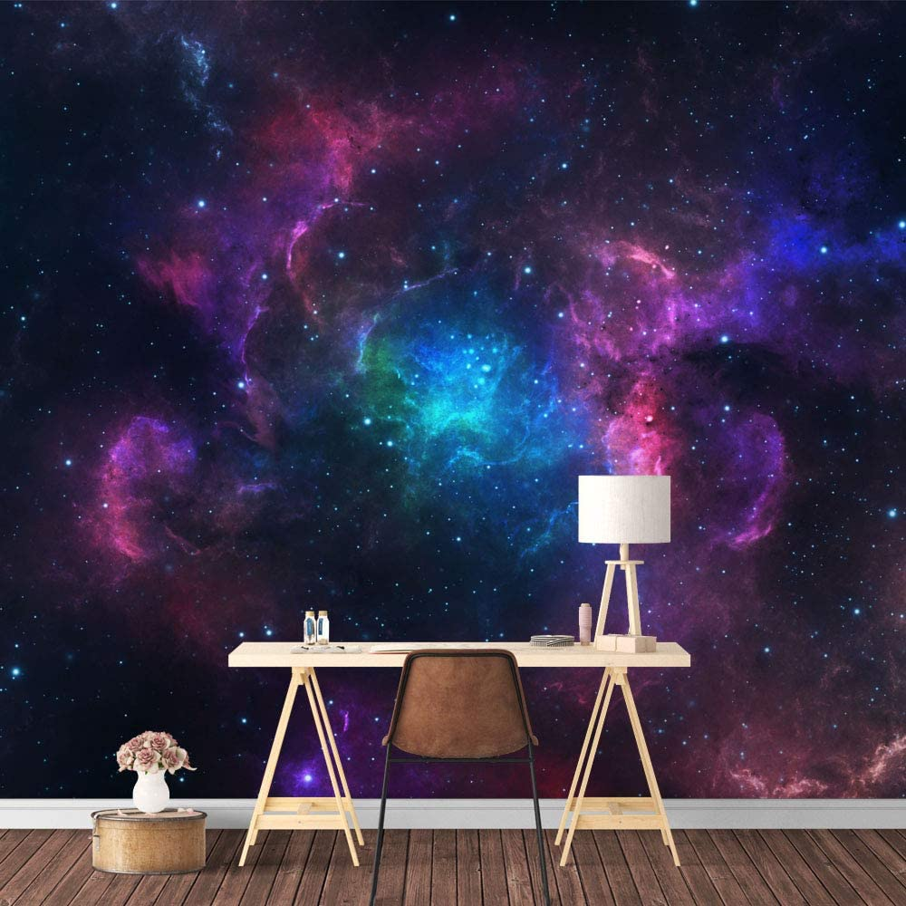 SIGNFORD Wall Mural Galaxy for Selling rankings Wallpaper Limited Special Price Removable Sticker