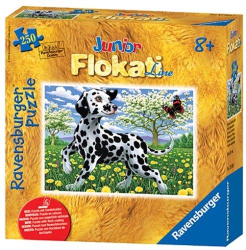 Ravensburger - Junior Flokati Line - Kleiner Dalmatiner, 250 Teile Puzzle