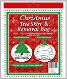 dobar Holiday Essentials Christmas Tree Removal Bag - New & Improved !! - Heavier Duty 4 Mil Thickness Poly Bag - Waterproof - 144' x 90' Height - Fits up to 7 ft Tree