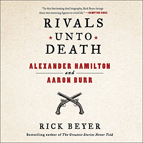Rivals Unto Death audiobook cover art