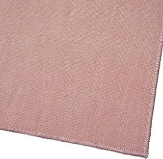 ペットにやさしい国産カーペット『ラティス』ピンク色 江戸間8畳 【抗菌加工・フリーカット】