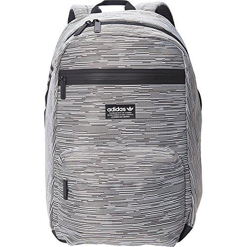 adidas Originals Unisex National Primeknit Backpack, Prime Knit Rib/Black, ONE SIZE