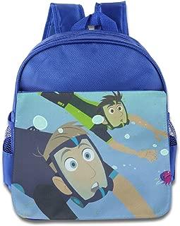 Wild Kratts Lost At Sea Kids School Bag