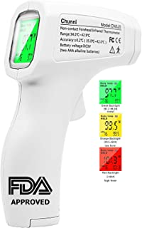 Thermometers, Medical Infrared Thermometer, 3-Color LCD Display, Digital Thermometer for Baby