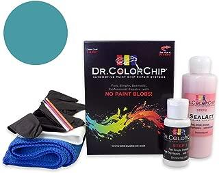 Dr. ColorChip Pontiac All Models Automobile Paint - Medium Maui Blue Metallic 23/WA9184 - Road Rash Kit