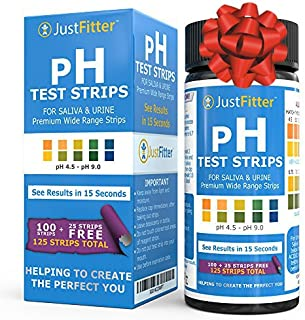 pH Test Strips. Ships from SG. Testing Alkaline and Acid Levels in the Body. Track & Monitor your pH Level using Saliva an...