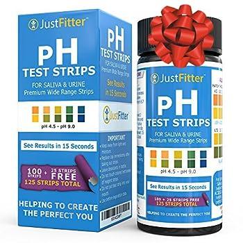 urine ph test strips