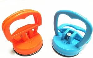 2pcs Vacuum Suction Cup Handle Dent Puller Dent Remover Sucker Hand Tools Set
