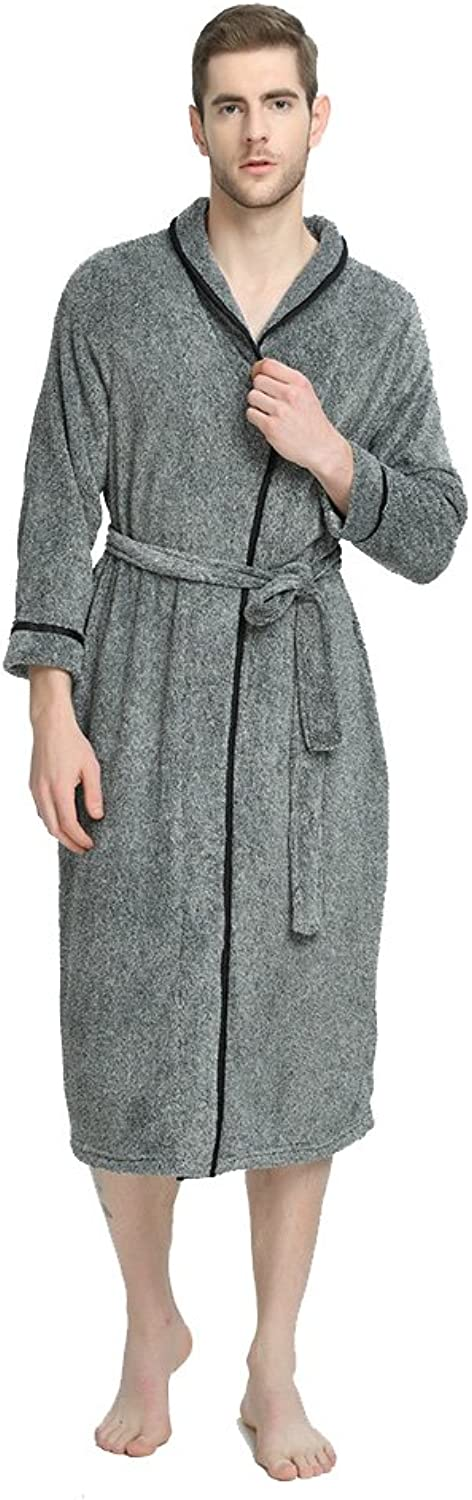 Couple'S bathrobes plush robes plus size fit most long sleepwear nightgown