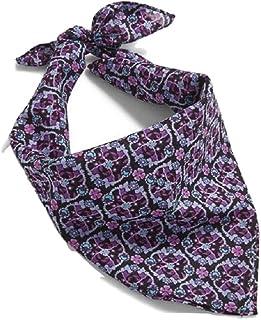 Vera Bradley Print Bandana in Lilac Vines